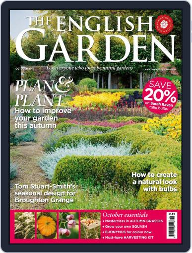 The English Garden October 1st, 2018 Digital Back Issue Cover