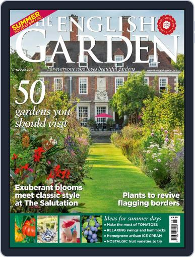 The English Garden August 1st, 2018 Digital Back Issue Cover