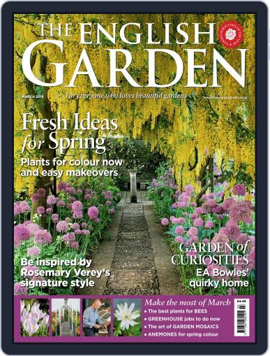 The English Garden (Digital) March 1st, 2018 Issue Cover