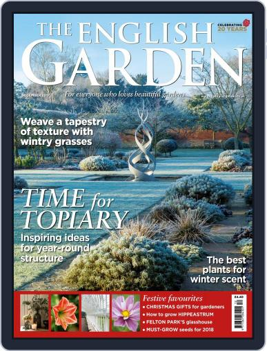 The English Garden (Digital) December 1st, 2017 Issue Cover