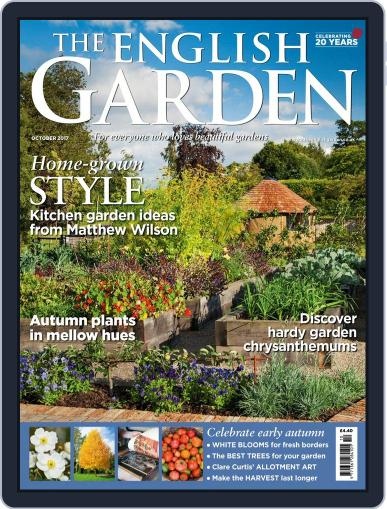 The English Garden October 1st, 2017 Digital Back Issue Cover