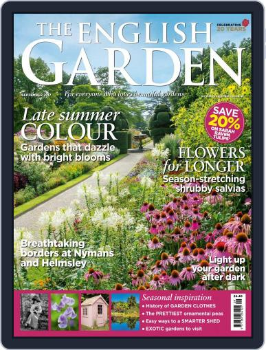 The English Garden (Digital) September 1st, 2017 Issue Cover