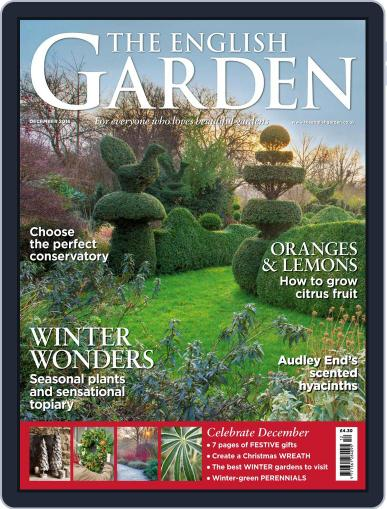 The English Garden (Digital) December 1st, 2016 Issue Cover