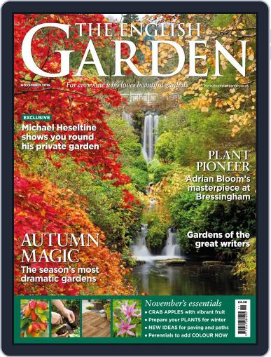 The English Garden (Digital) November 1st, 2016 Issue Cover