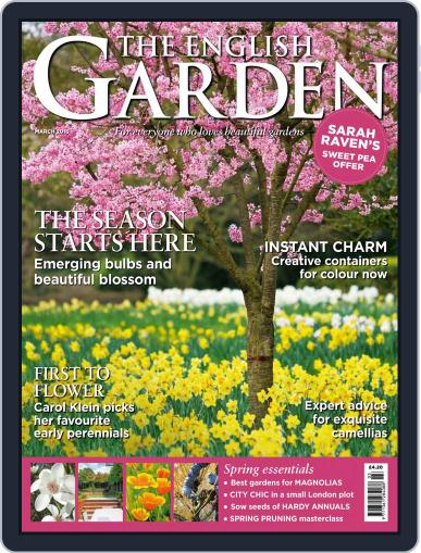 The English Garden (Digital) February 3rd, 2016 Issue Cover