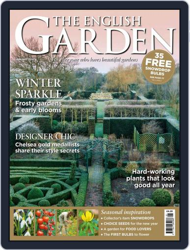 The English Garden January 1st, 2016 Digital Back Issue Cover