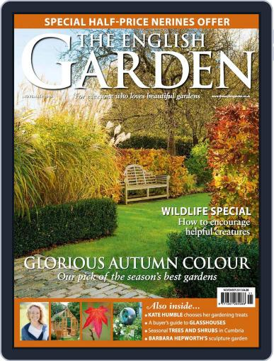 The English Garden October 31st, 2015 Digital Back Issue Cover