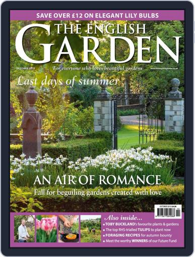 The English Garden (Digital) September 30th, 2015 Issue Cover