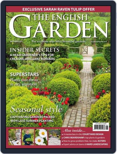 The English Garden August 18th, 2015 Digital Back Issue Cover