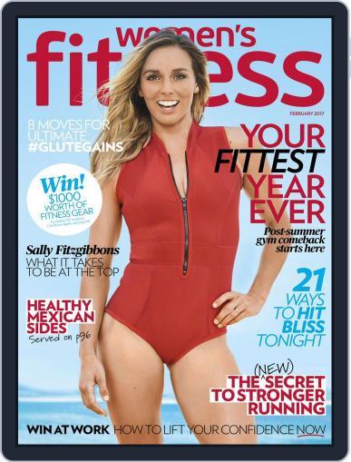 Women's Fitness Australia February 1st, 2017 Digital Back Issue Cover