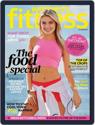 Women's Fitness Australia (Digital) October 1st, 2015 Issue Cover