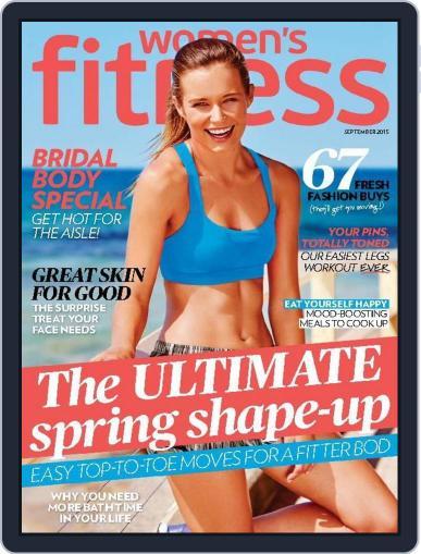Women's Fitness Australia (Digital) August 16th, 2015 Issue Cover