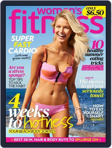 Women's Fitness Australia October 31st, 2014 Digital Back Issue Cover