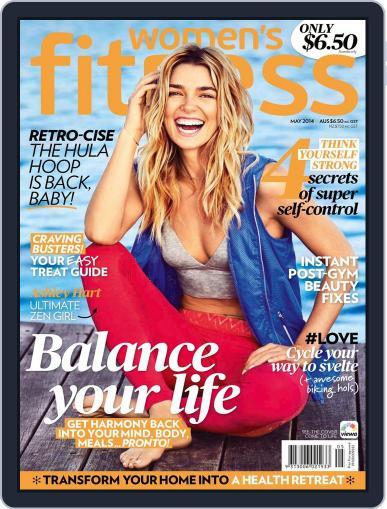 Women's Fitness Australia April 9th, 2014 Digital Back Issue Cover