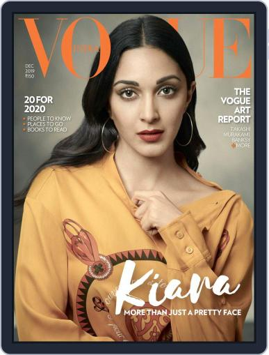 VOGUE India (Digital) December 1st, 2019 Issue Cover