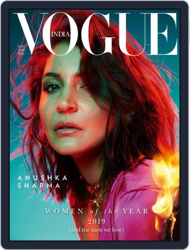 VOGUE India (Digital) November 1st, 2019 Issue Cover