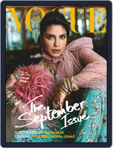 VOGUE India (Digital) September 1st, 2019 Issue Cover