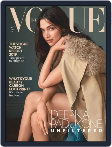 VOGUE India (Digital) August 1st, 2019 Issue Cover