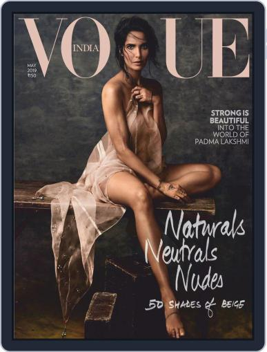 VOGUE India May 1st, 2019 Digital Back Issue Cover