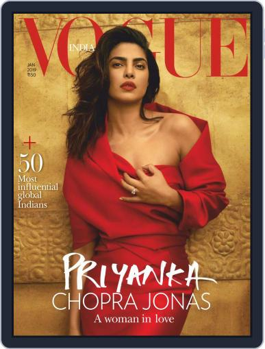 VOGUE India (Digital) January 1st, 2019 Issue Cover