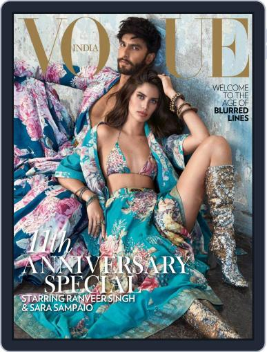 VOGUE India October 1st, 2018 Digital Back Issue Cover