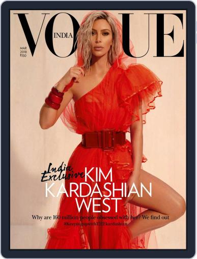 VOGUE India (Digital) March 1st, 2018 Issue Cover