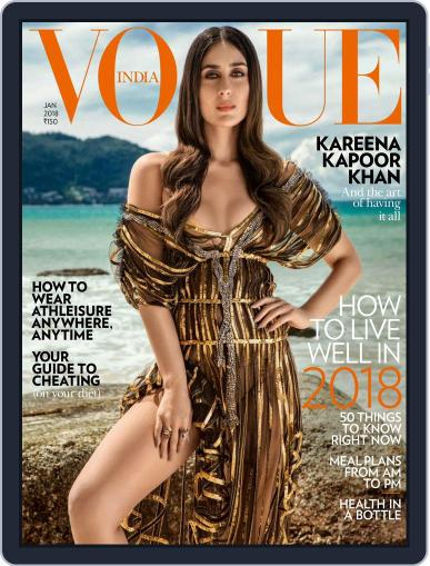 VOGUE India (Digital) January 1st, 2018 Issue Cover