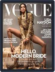 VOGUE India (Digital) Subscription November 5th, 2014 Issue