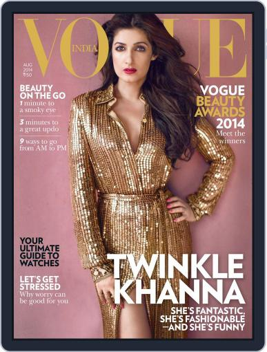 VOGUE India (Digital) July 31st, 2014 Issue Cover