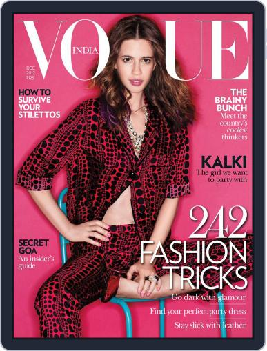 VOGUE India (Digital) December 5th, 2012 Issue Cover