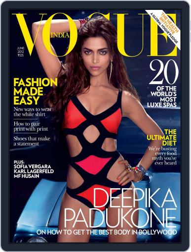 VOGUE India (Digital) June 1st, 2012 Issue Cover