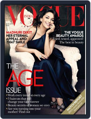 VOGUE India (Digital) August 1st, 2011 Issue Cover