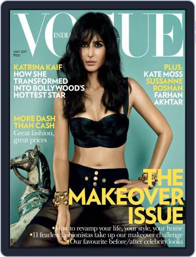 VOGUE India May 1st, 2011 Digital Back Issue Cover
