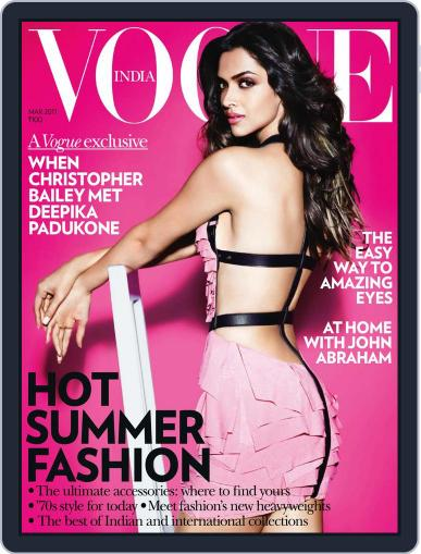 VOGUE India (Digital) March 1st, 2011 Issue Cover