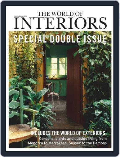 The World of Interiors July 1st, 2020 Digital Back Issue Cover
