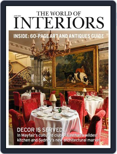 The World of Interiors June 1st, 2020 Digital Back Issue Cover
