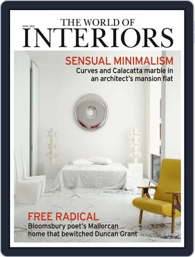 The World of Interiors (Digital) April 1st, 2020 Issue Cover