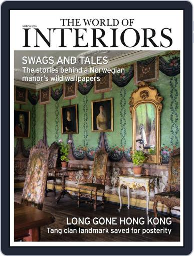 The World of Interiors March 1st, 2020 Digital Back Issue Cover