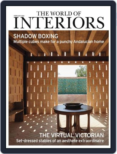 The World of Interiors February 1st, 2020 Digital Back Issue Cover