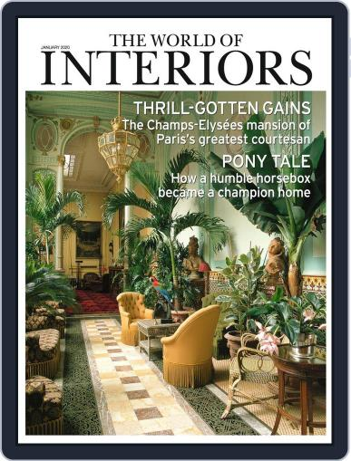 The World of Interiors January 1st, 2020 Digital Back Issue Cover