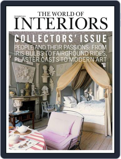 The World of Interiors December 1st, 2019 Digital Back Issue Cover