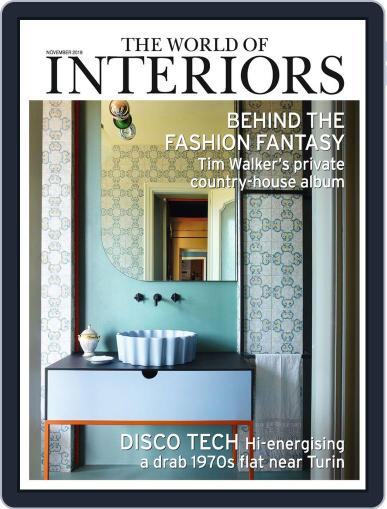 The World of Interiors (Digital) November 1st, 2019 Issue Cover
