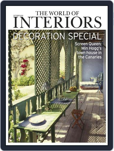 The World of Interiors October 1st, 2019 Digital Back Issue Cover
