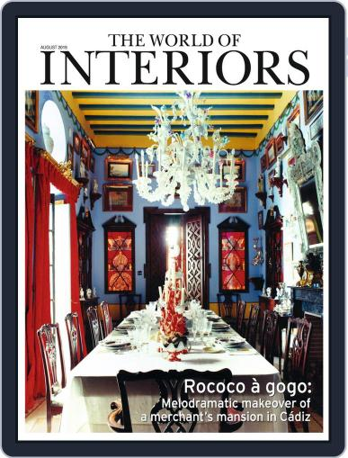 The World of Interiors August 1st, 2019 Digital Back Issue Cover