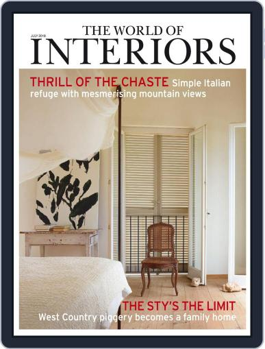 The World of Interiors (Digital) July 1st, 2019 Issue Cover