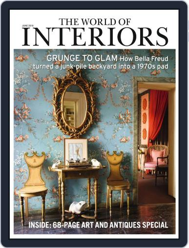 The World of Interiors June 1st, 2019 Digital Back Issue Cover