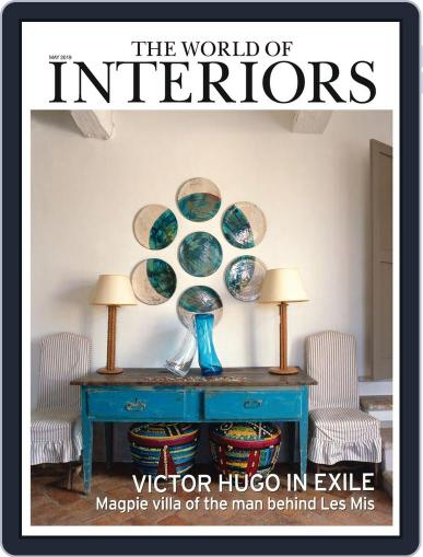 The World of Interiors May 1st, 2019 Digital Back Issue Cover