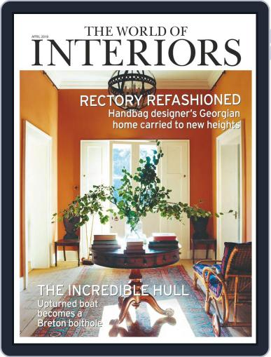 The World of Interiors April 1st, 2019 Digital Back Issue Cover