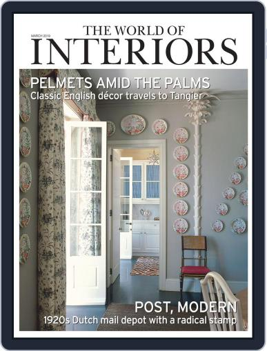 The World of Interiors March 1st, 2019 Digital Back Issue Cover