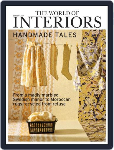 The World of Interiors (Digital) February 1st, 2019 Issue Cover